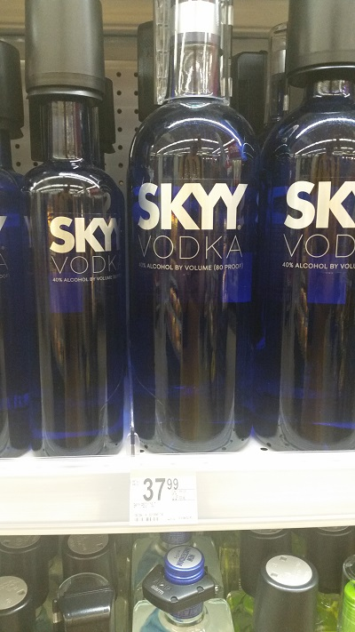 SKYY Vodka is very popular in Las Vegas