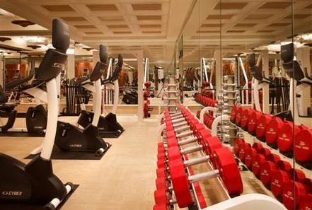 fitness room wynn