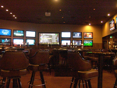 circus circus has the best sports book on the north end of the strip