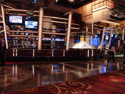 once a classy sports book in the cosmopolitan las vegas is now a lounge