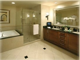 guest bath at mgm signature by blue chip vega