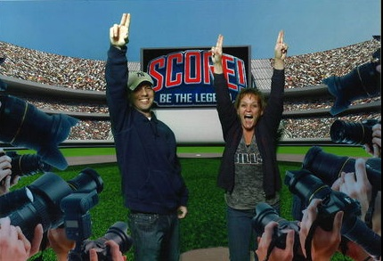 get on the field at score the interactive fan experience at luxor las vegas