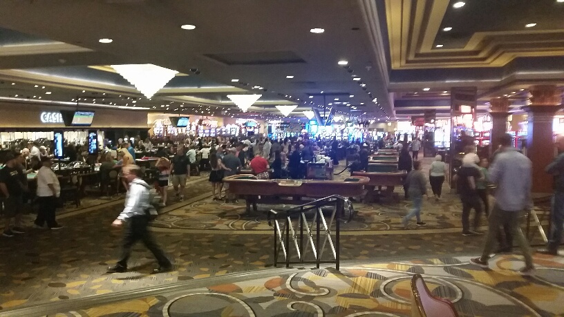 The Bally's Casino can be one of the loudest in Las Vegas, if You like non stop action this is the place for You.
