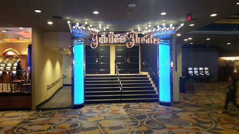 Jubilee Theater is one of the oldest and most famous venues in Las Vegas
