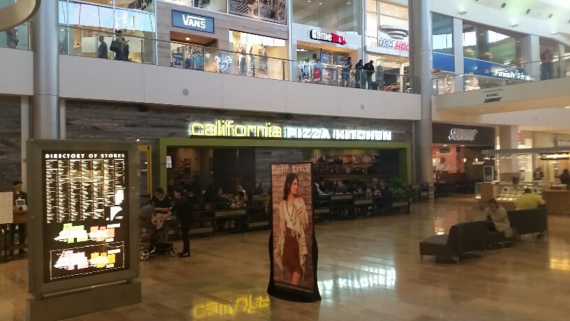 California Pizza Kitchen in the middle of the Fashion Show Mall