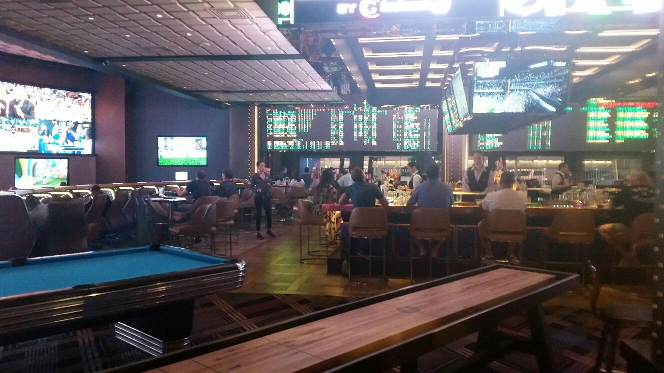 The Cosmopolitan Sports Book is now on the first floor