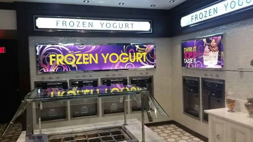 Many Flavors of Frozen Yogurt at Fulton Street