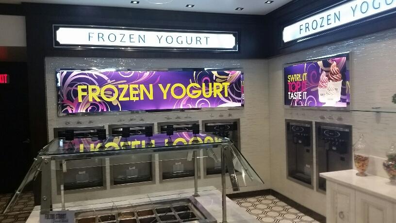 Many Flavors of Frozen Yogurt at Fulton Street