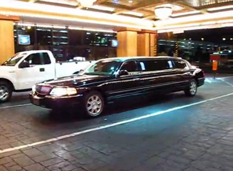 limo in drive thru