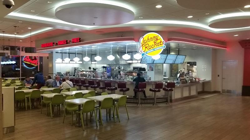 Johnny Rockets at Ballys food Court