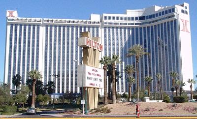 las vegas hotel new front
