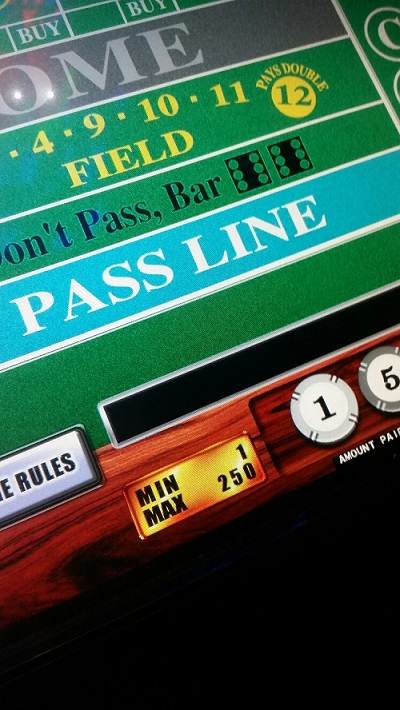 The minimum bet is often displayed incorrectly on the shoot to win machines