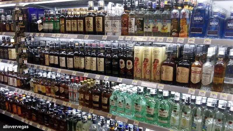 Endless quantities of Liquor